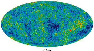 6.NASA map of universe