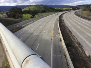 Above the highway