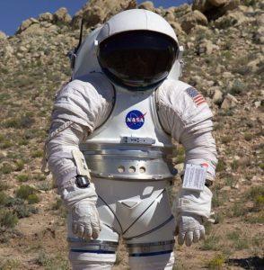Mark III spacesuit. Image courtesy of NASA